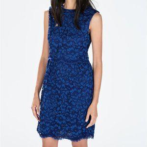 Zara Lace Dress with Waist Seam XS